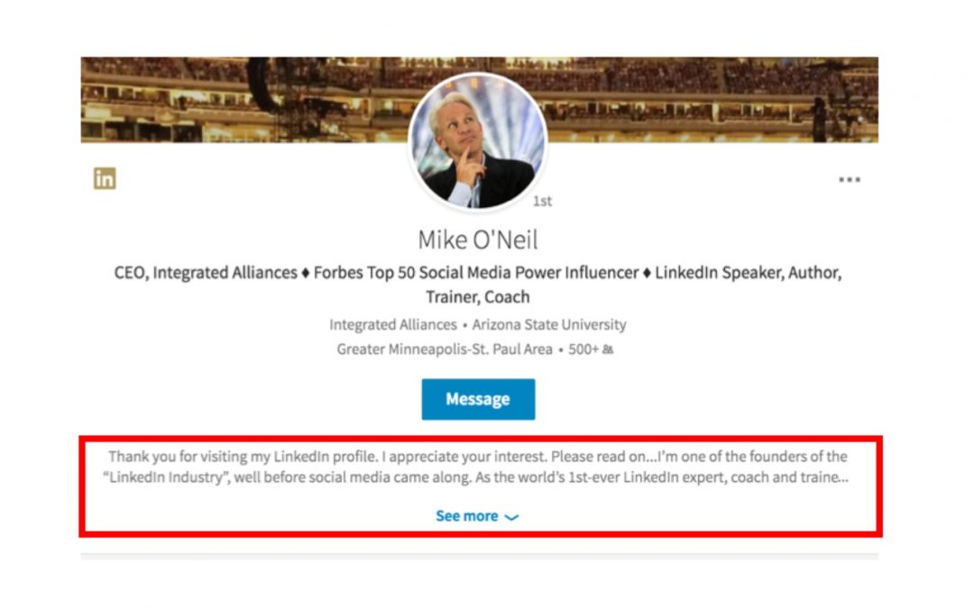 Big Redesign and Change in LinkedIn Profiles