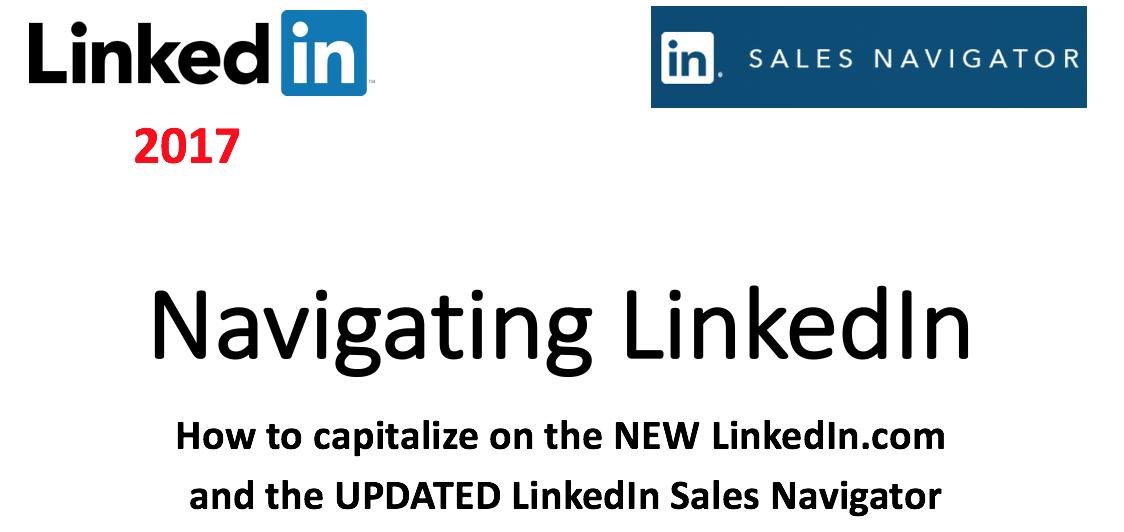Navigating LinkedIn